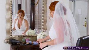 La Mariée Est Brutalement Baisée Dans Son Lit Avec Son Nez Se Brisant La Chatte