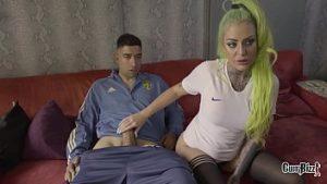 Sexe Avec Une Belle Nymphomanie Blonde