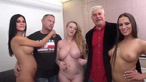 Une Orgie épique Avec Trois Stars Du Porno Et Un Ancien Gigolo Mature