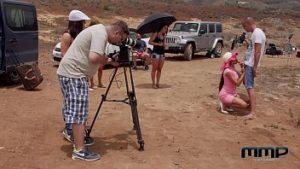 Porno 2020 avec My Melone dans le désert