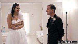 La mariée baisée le soir du mariage par le frère du marié